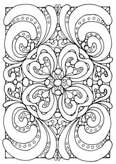 mandala coloring pages koloringpages - Free Abstract Coloring Pages