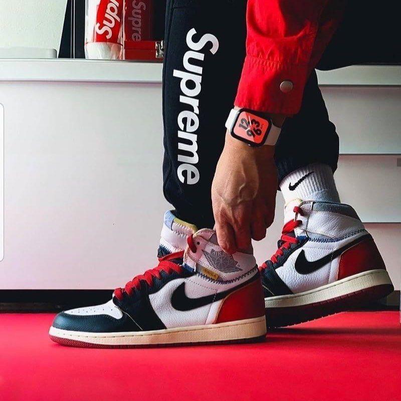 Rp 600 000 Nike Air Jordan 1 Union La Chicago Size 39 40 41 42 43
