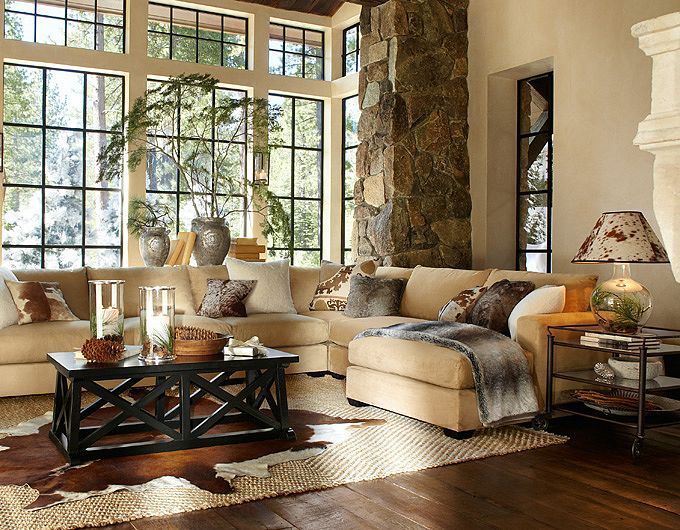 charming pottery barn style living room decor ideas   Living Room Ideas & Living Room Decorations   Pottery Barn ...