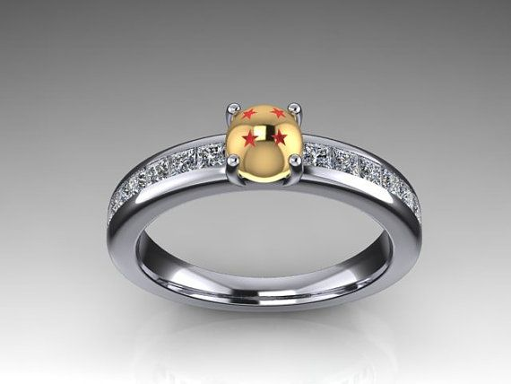 Dragon ball engagement ring Marry me like this Pinterest
