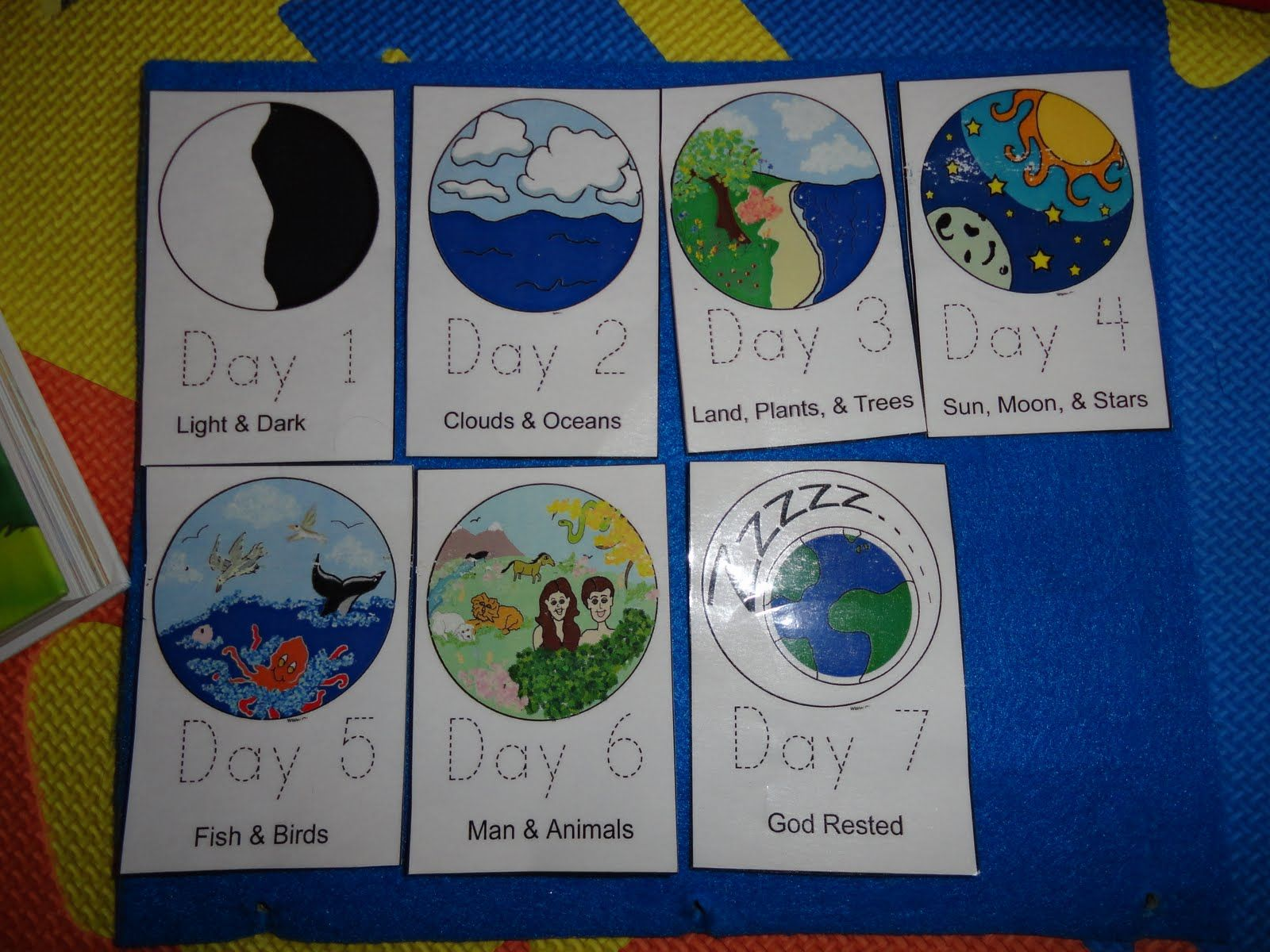 Days Of Creation Book Next Week S Chapel Day To Review
