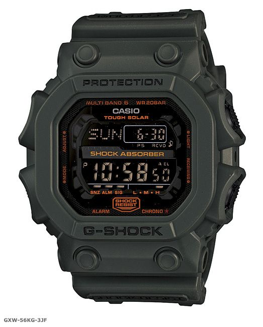 Casio G Shock Solar Military Green Collection Casio G Shock Watches G Shock Casio G Shock