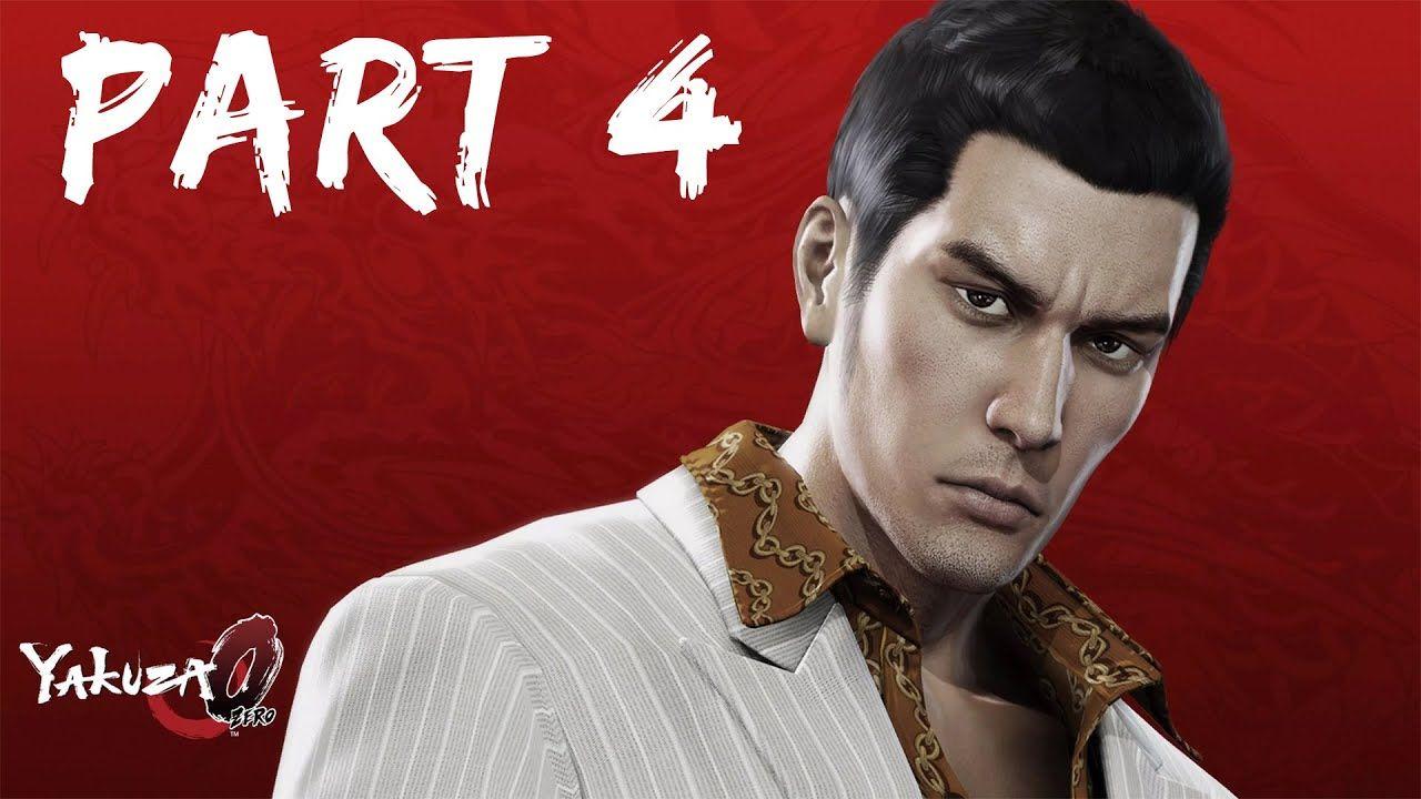 Yakuza 0 Gameplay Part 4 Gameplay Kiryu Youtube