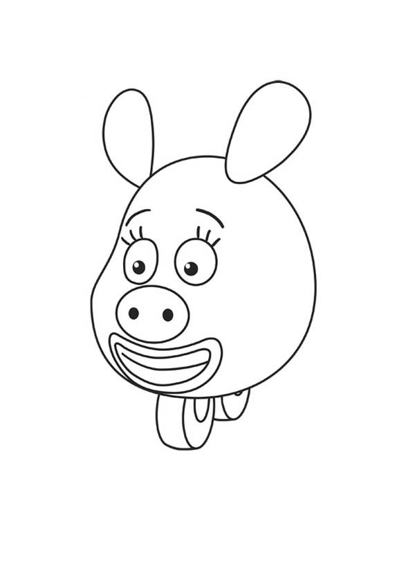 How To Draw Zooter From Jungle Junction Coloring Page Netart In 2020 Jungle Junction Coloring Pages Jungle Junction Party
