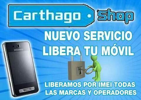 Nuevo servicio Libera tu móvil con nosotros sin moverte de casa