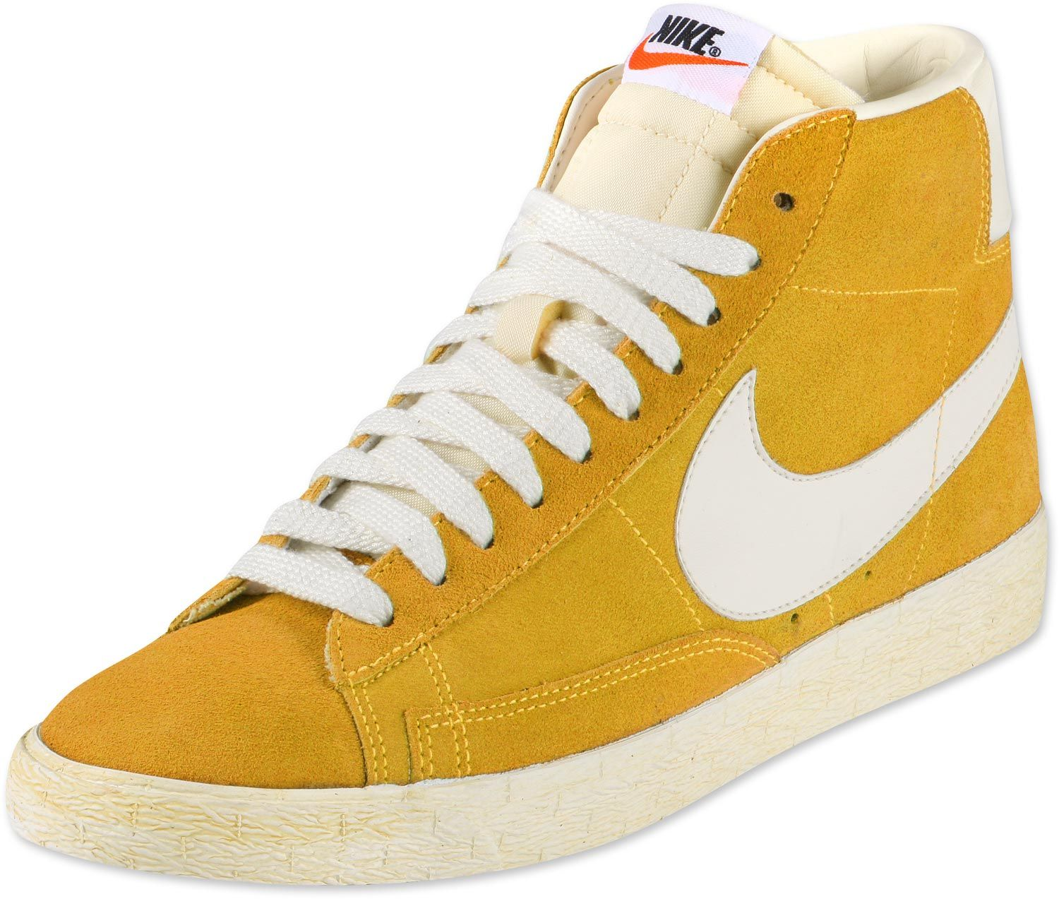 quality design 3a5d0 bed6d ... Cheap Nike Shoes Outlet Sal. Nike Blazer Hi Suede Schuhe gelb weiß