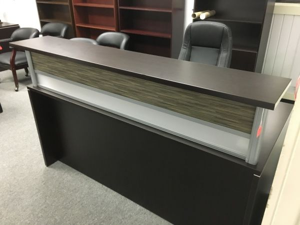 New Office Source Pl Series Reception Desk Desks A Affordable Furniture