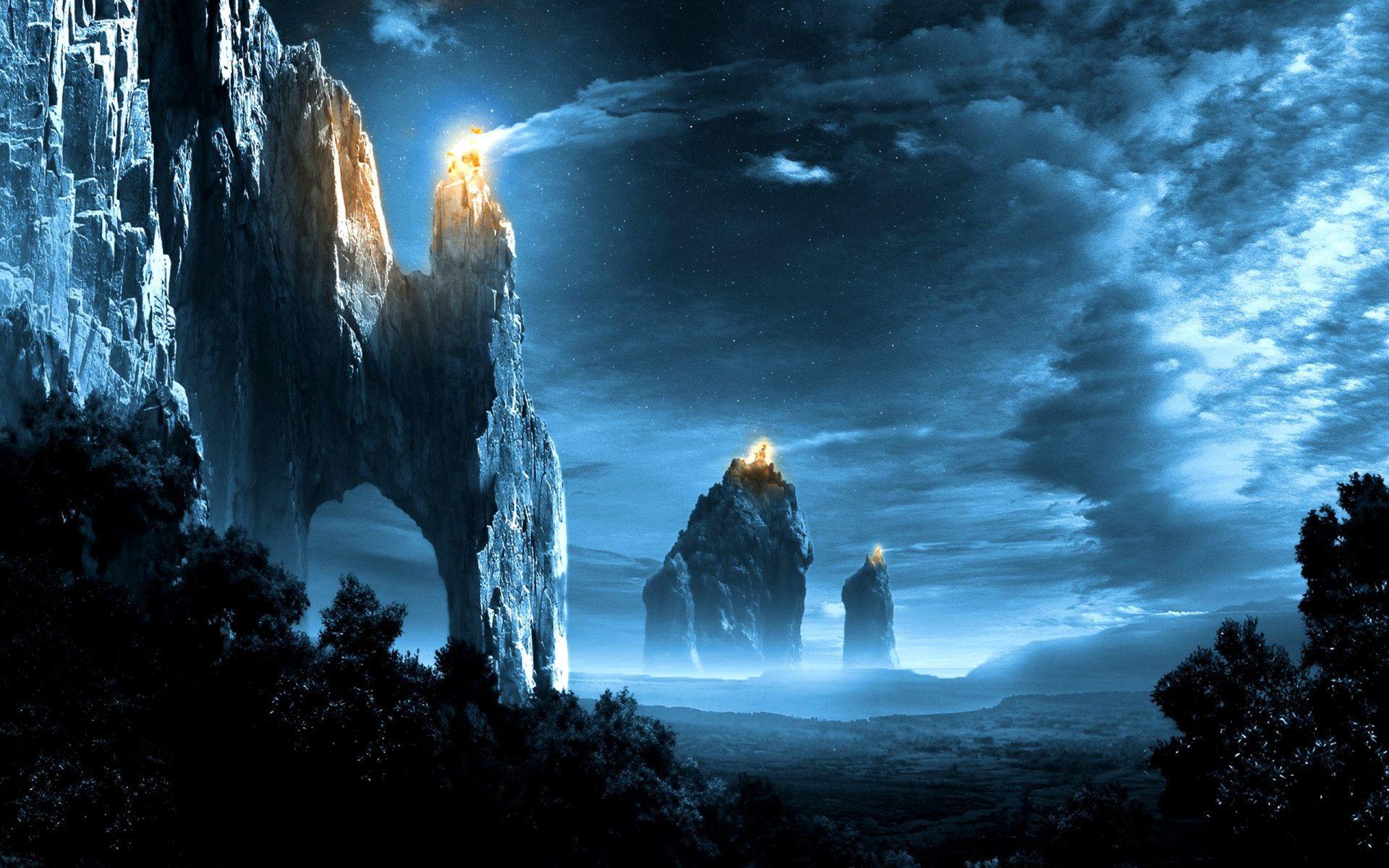 Fantasy Landscape Wallpapers Paysages D Art Fantastique Art Paysagiste Art Fantastique