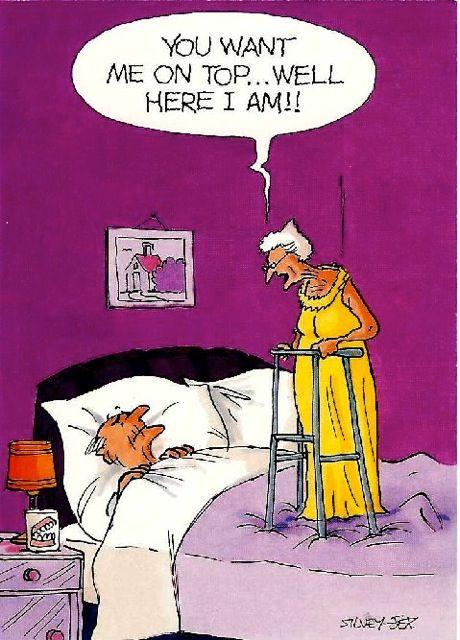 Old age sex jokes