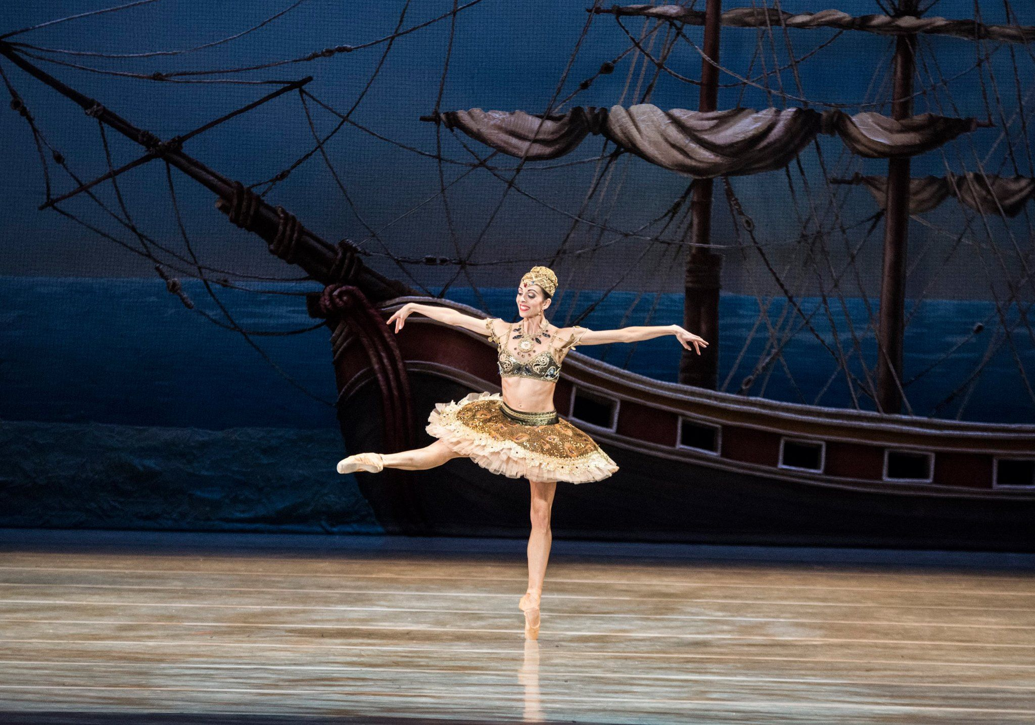 Pennsylvania Ballet Principal Dancer Amy Aldridge in 'Le Corsaire' - Photo by Arian Molina Soca