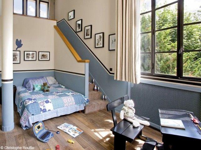 Elegant Chambre Garcon Bleu Et Beige Conception