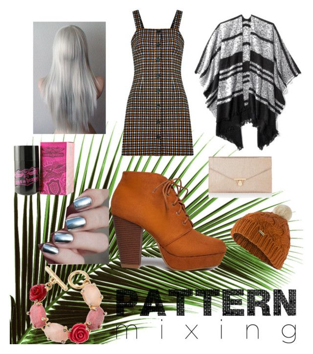 """""""Pattern mixed"""" by palm0011 ❤ liked on Polyvore featuring Old Navy, Accessorize, Barbour, Oscar de la Renta and TOUS"""