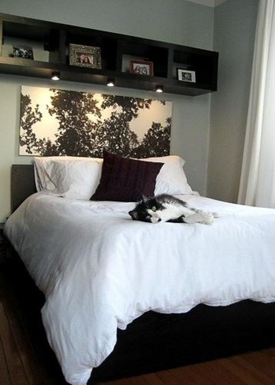 spacesaving cube storage ideas black beds hanging pictures