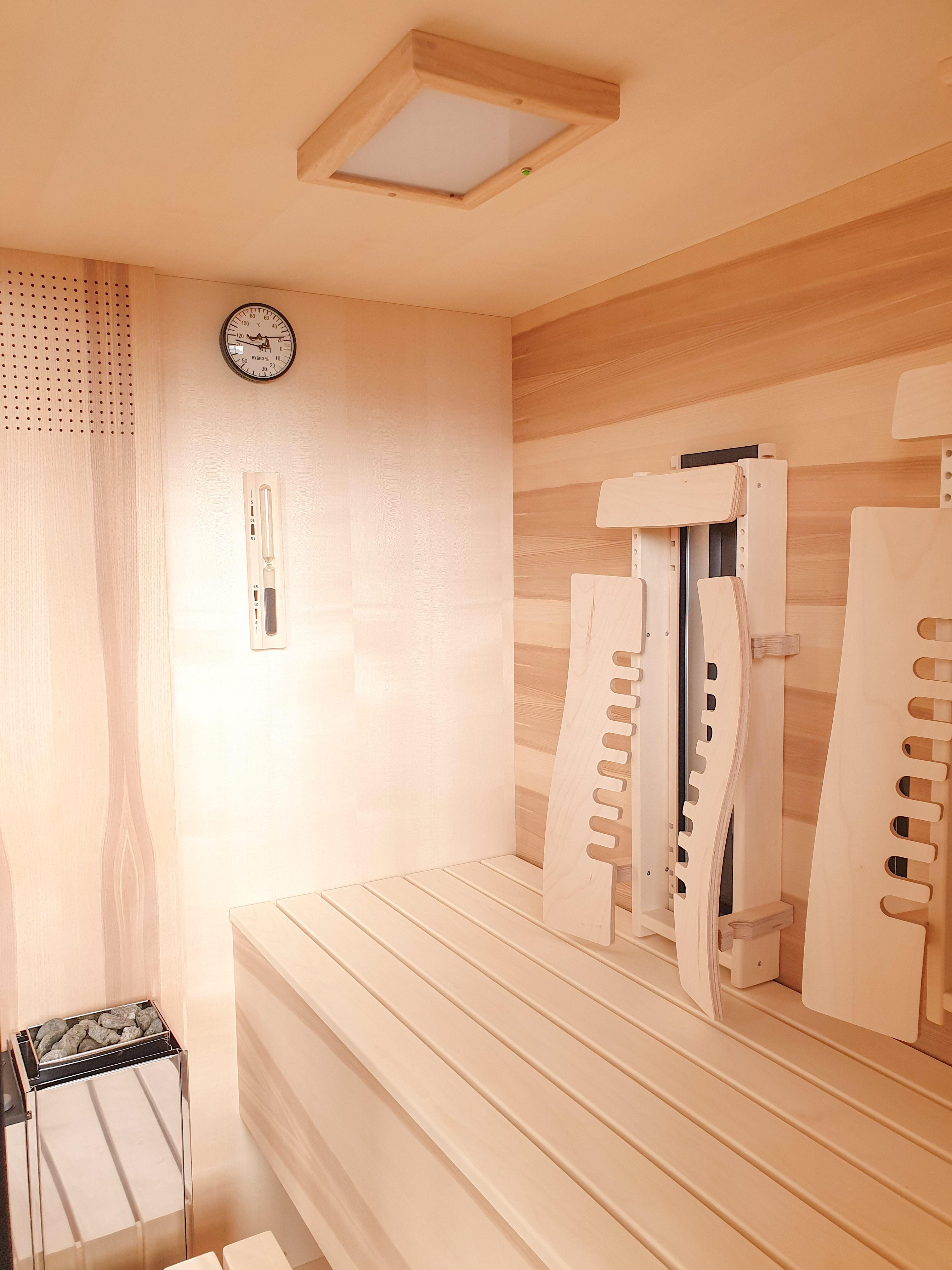 Infrarot Sauna Aus Kernahorn Infrarotkabine Saunaofen Infrarot Sauna