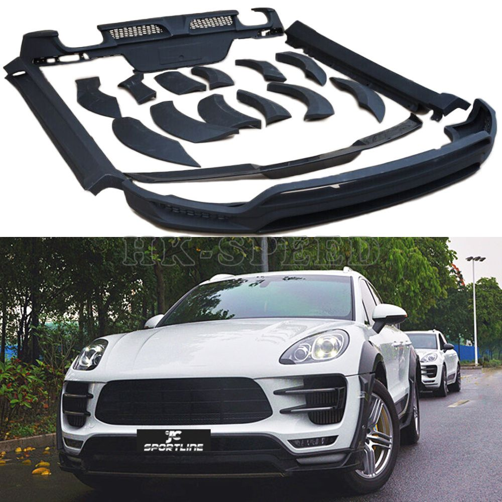macan car styling accessories full body kits for porsche macan