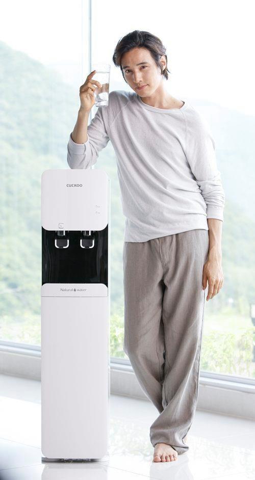 Won Bin Cuckoo Water Purifier Advert New Pic Won Bin Water Purifier Pure Products