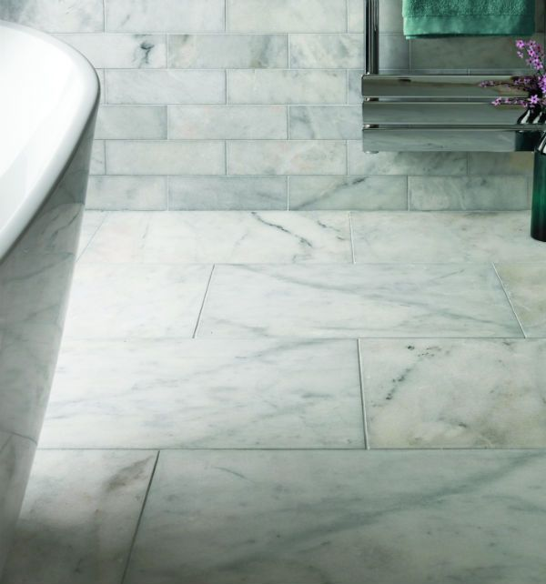 Long Island Marble In A Honed Finish Affordable Tiles For The Bathroom Walls And Floors