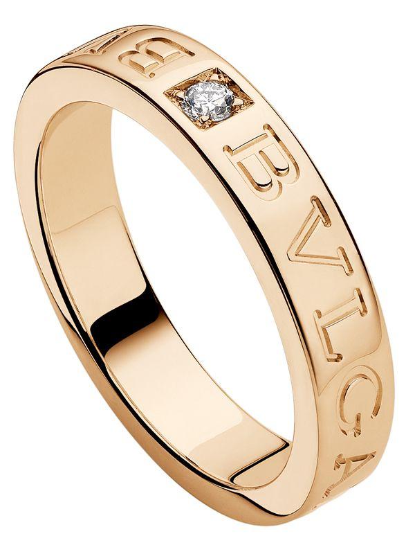 81e8ea519319 Anillo Bvlgari Bvlgari De Oro Rosa Con Diamante. Berger Mexico ...