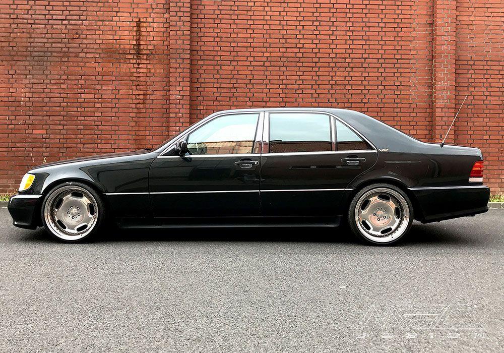 Mercedes Benz S600 W140 Mec Design Wheels Mercedes Benz
