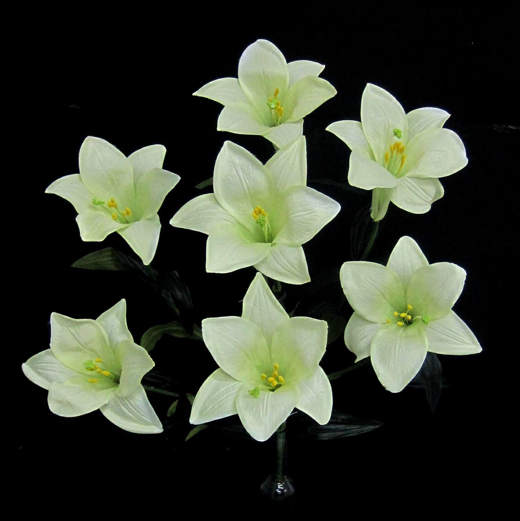 Selyem liliom csokor Virágok, Karácsony és Dekoráció