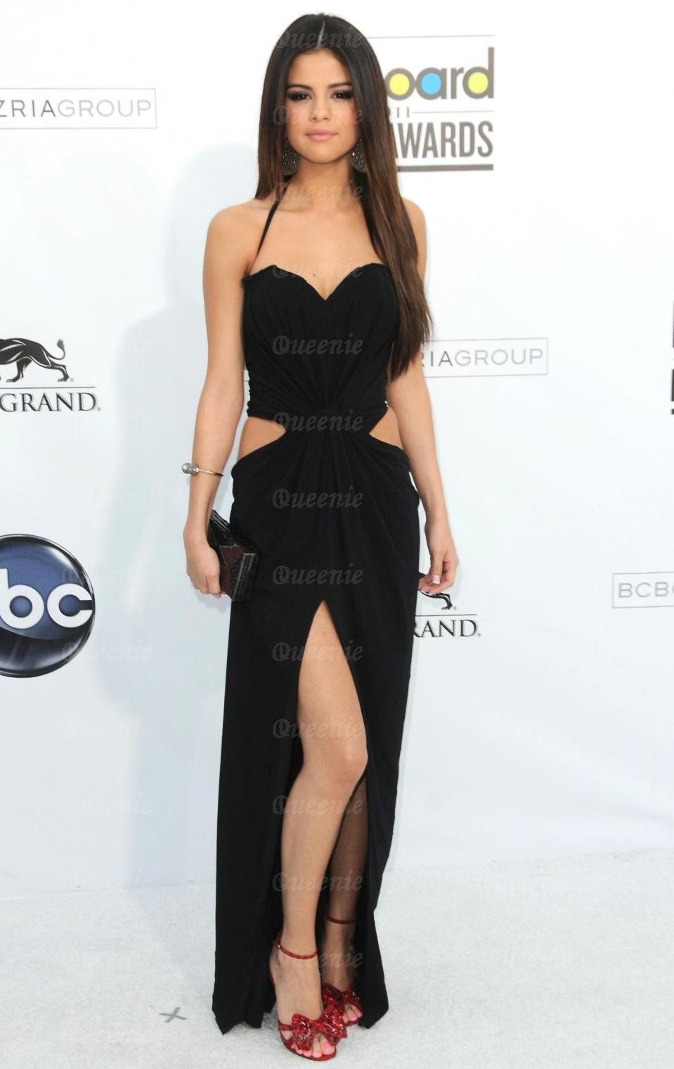 Long dresses used by selena