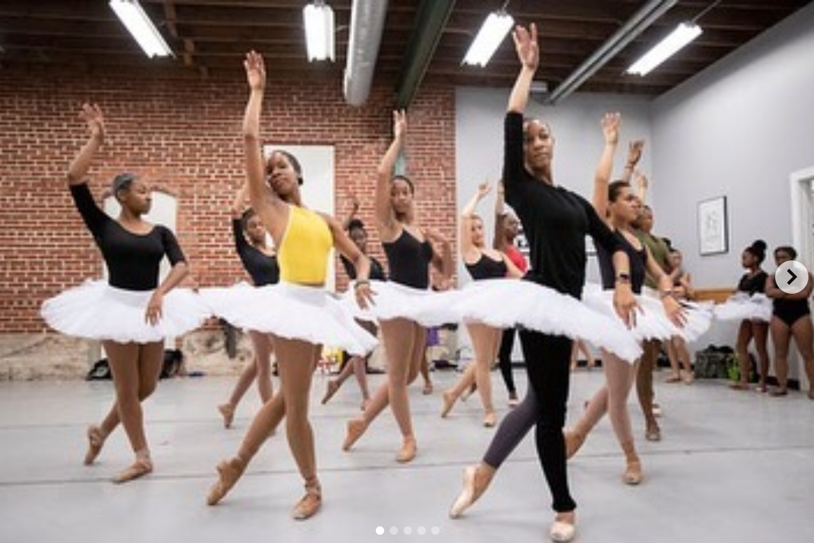 Pin By Portraits By Tracylynne On Melanin On Pointe Dance Professional Dancers Dance Company