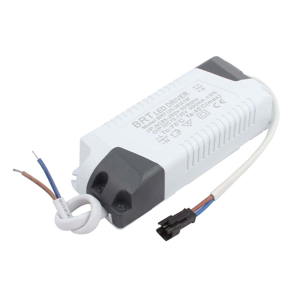 25 36 X 1w Terminal Connector Advanced Plastic Shell White Led Driver Power