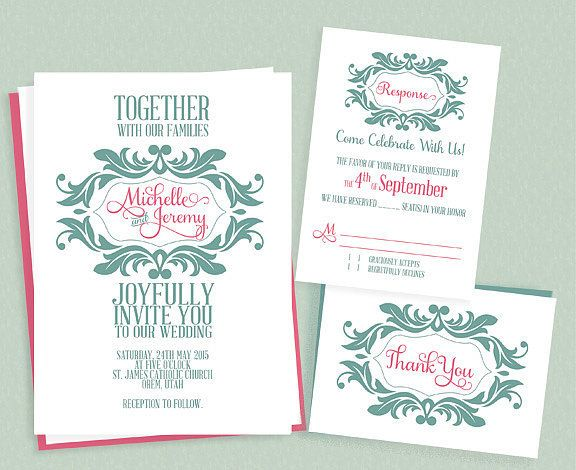 10 Best images about monogram wedding invitation – Wedding Invitations with Monogram