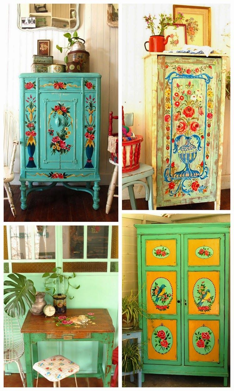 Amazing Room · Las Vidalas Painted Furniture