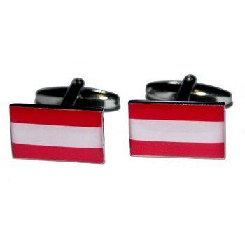 Manchetknopen Oostenrijkse Vlag