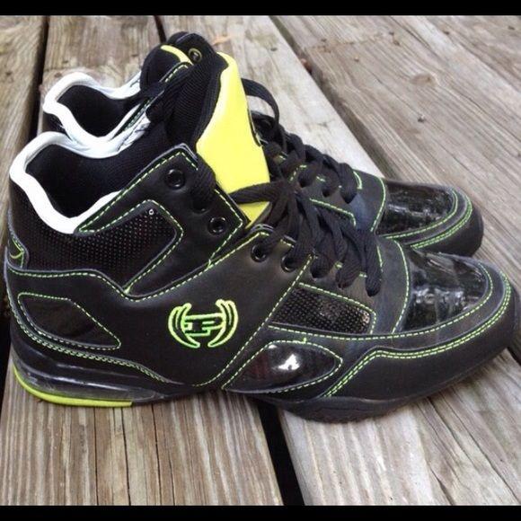 75c7c197d24 Phat Farm Shoes | Phat Farm Hi Top Basketball Shoes | Color: Black ...