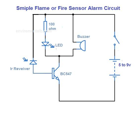 Fire Alaram Circuit | Fire alarm, Circuit, Electronic ...