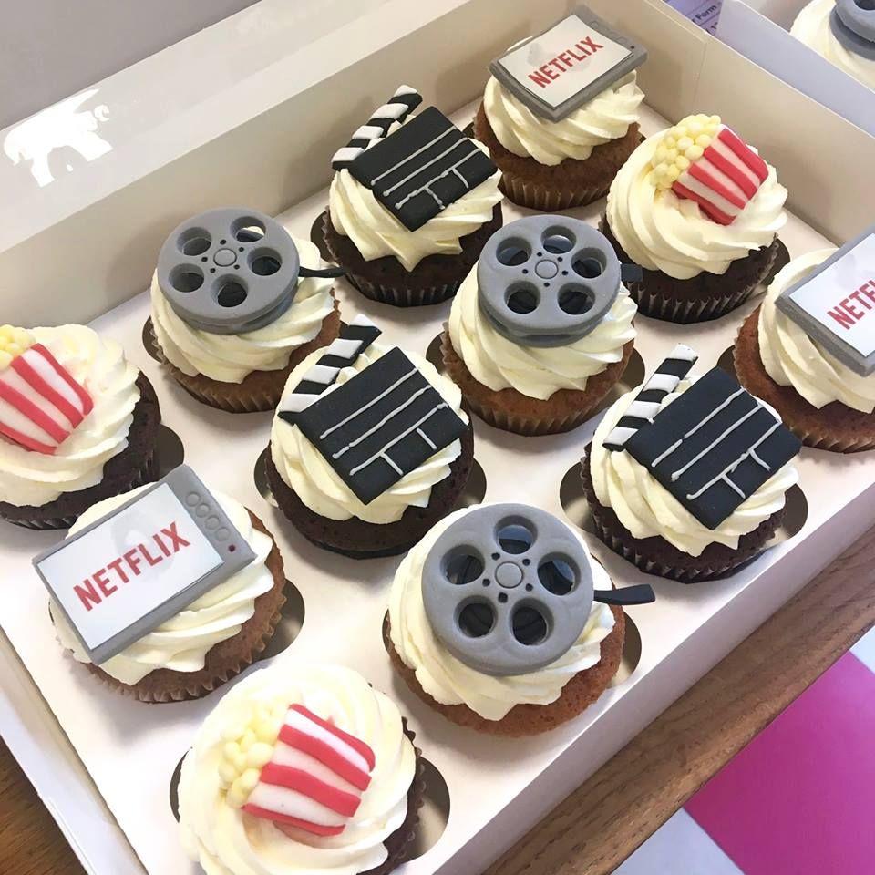Netflix Cupcakes Con Imagenes Tortas Pastel De Cumpleanos Comida