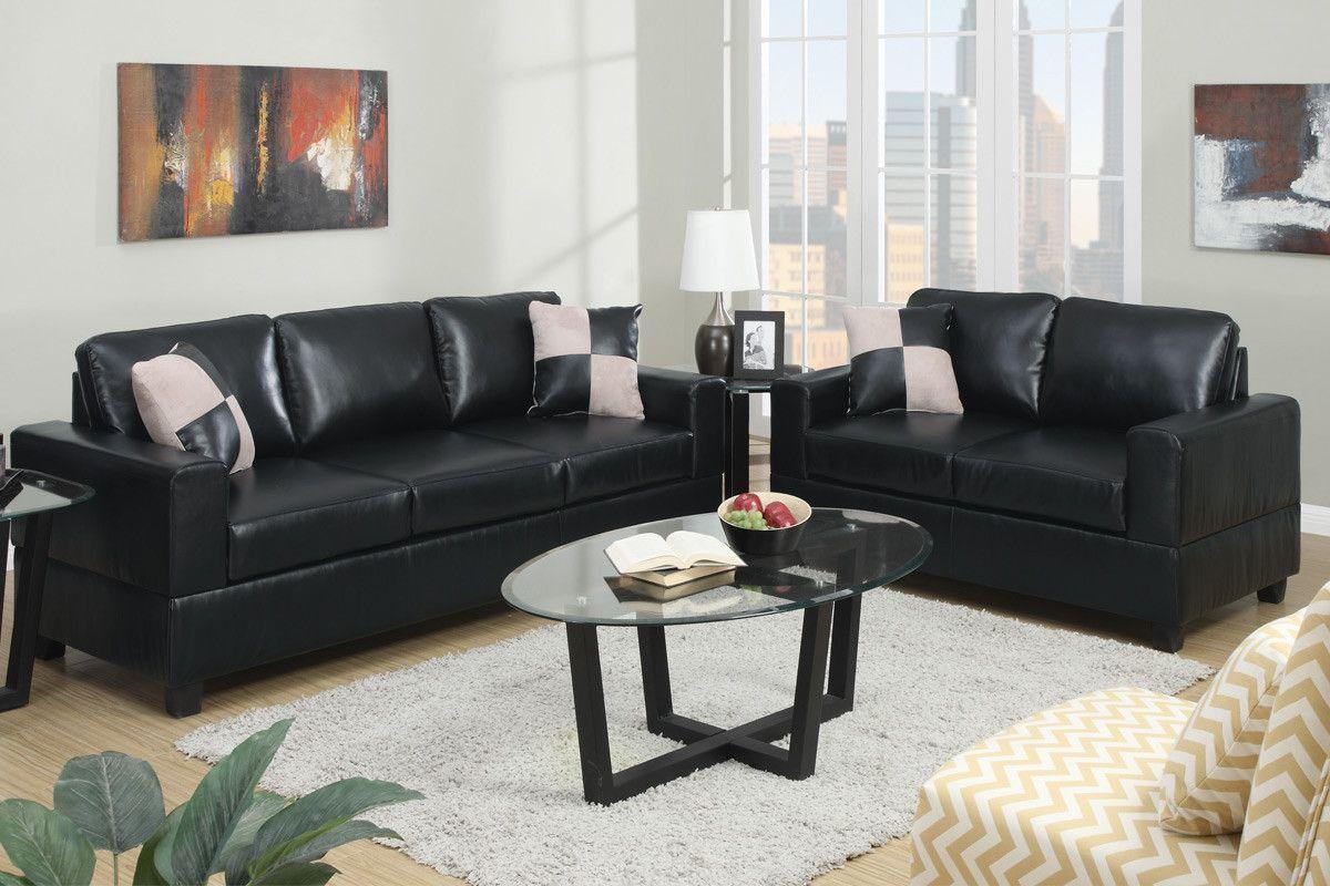 Poundex Poundex 2-Pcs Sofa Set F7598
