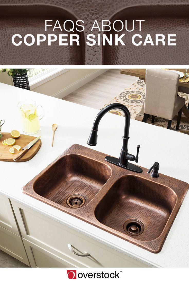 4 Common Questions About Copper Sink Care Drop In
