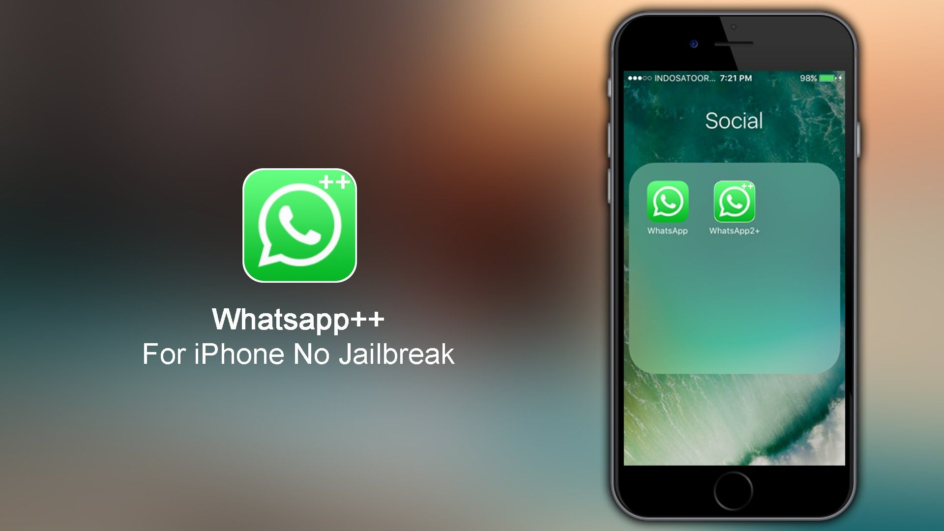 How To Install Whatsapp++ For iPhone iOS 9 3 5 - 10 Without