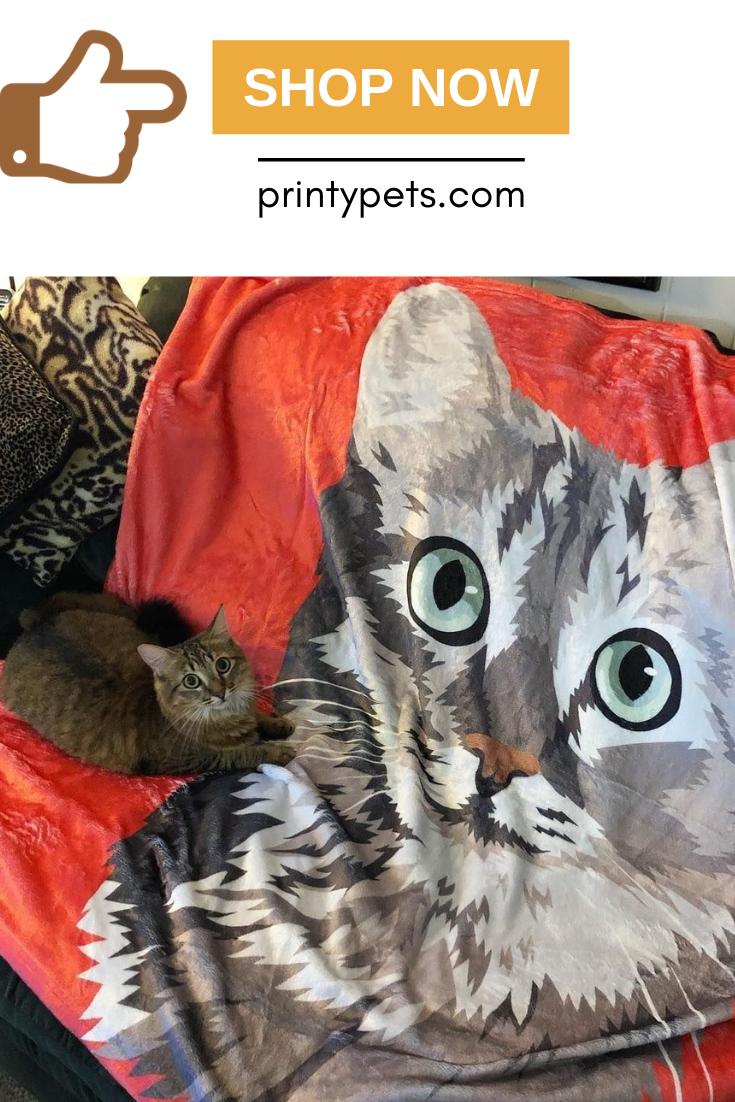 Custom Pet Print Fleece Blanket Print Fleece Blanket Your Pet Pets