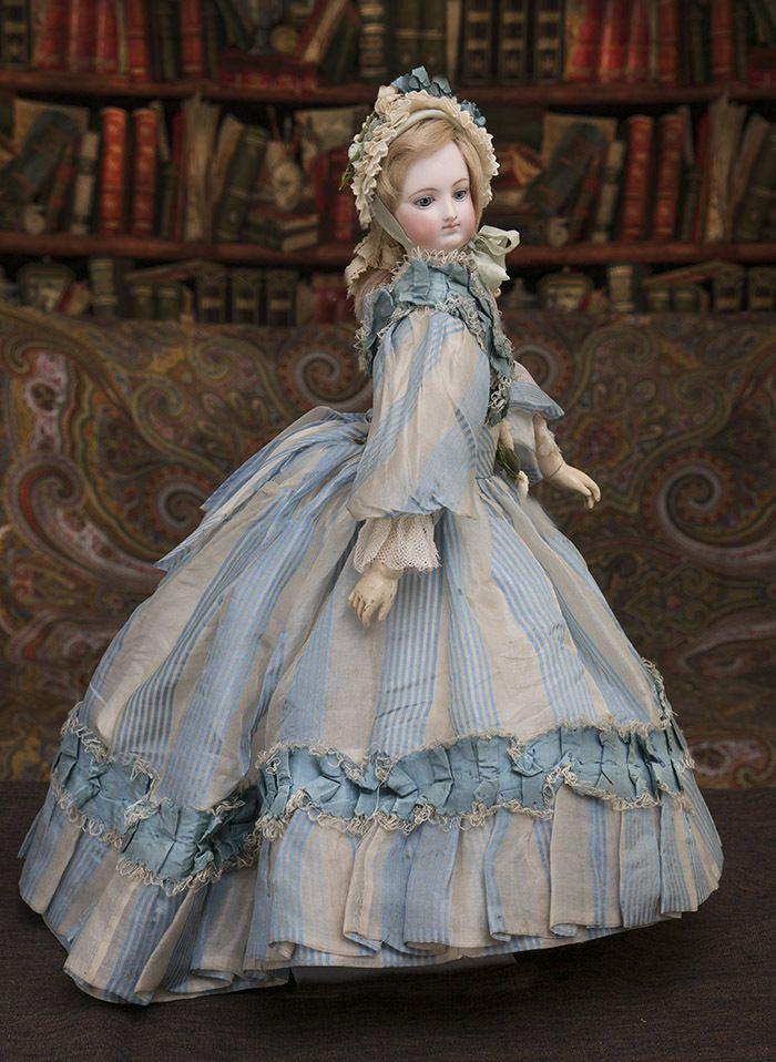 17 1 2 In 44 Cm Wonderful Antique French Fashion Bru