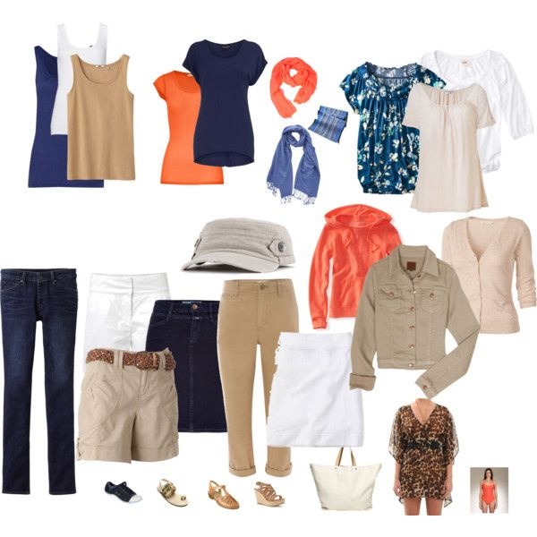 Summer Vacation Packing #travelwardrobesummer