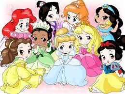 Resultado de imagem para imagens das princesas como anime