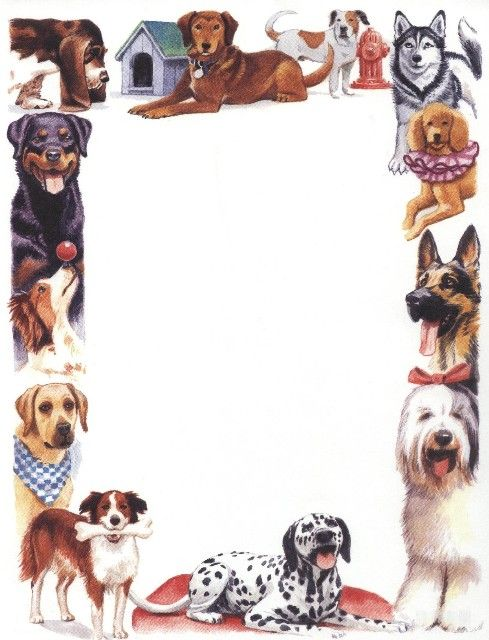 Dog Picture Boarders