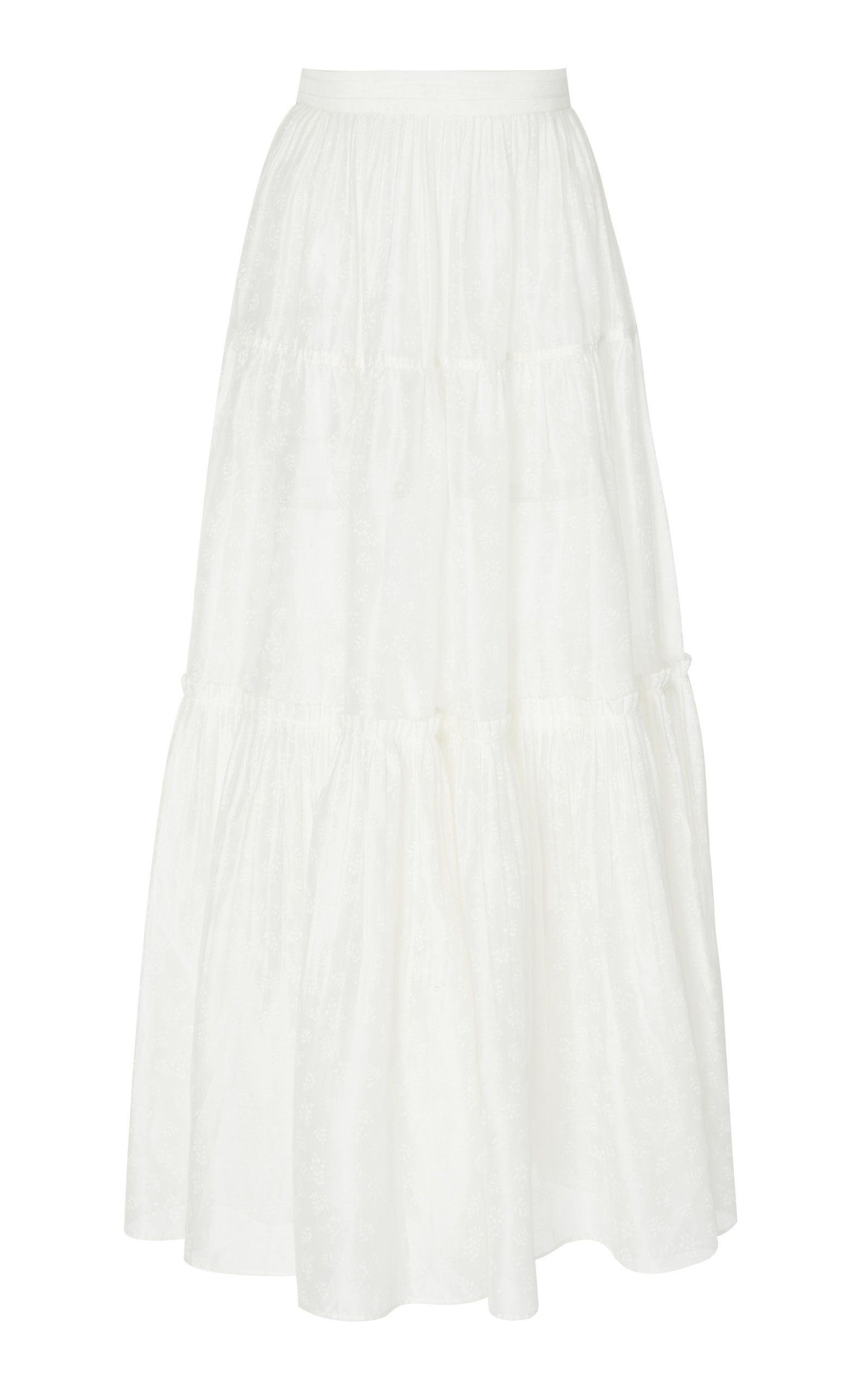 2deb57d44 Click product to zoom Ulla Johnson, Ruffles, Skirts, Cotton Skirt, Clothes,