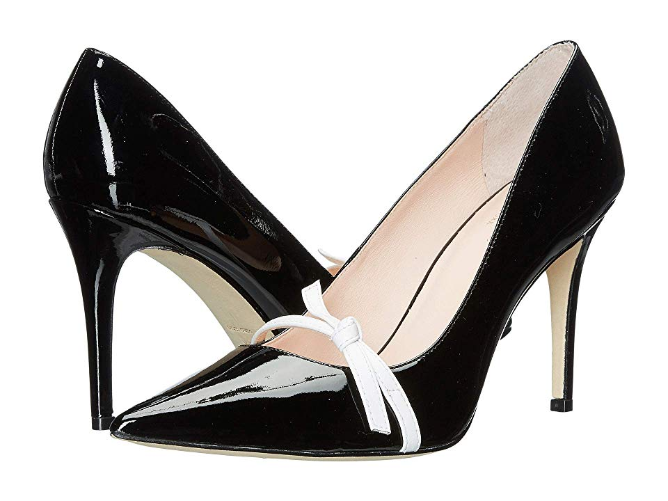 912e776ae6e04 Kate Spade New York Viola Women's Shoes Black/White Patent ...