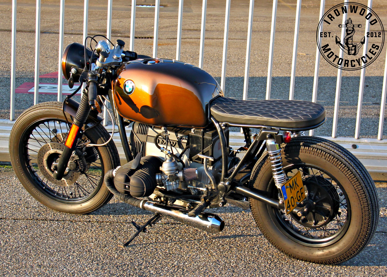 1981 bmw r80 cafe racerironwood custom motorcycles #caferacer