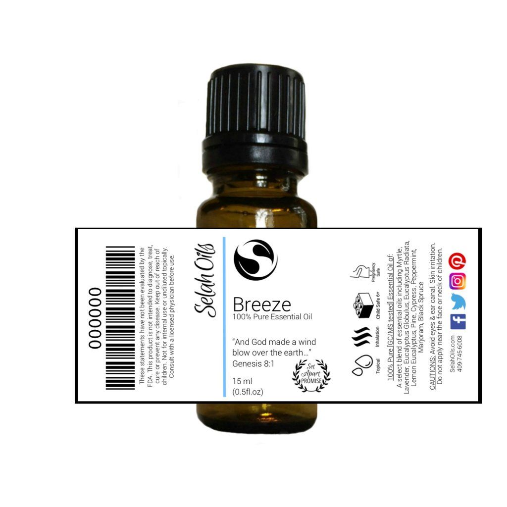 Breeze Essential Oil Blend Essential oil blends