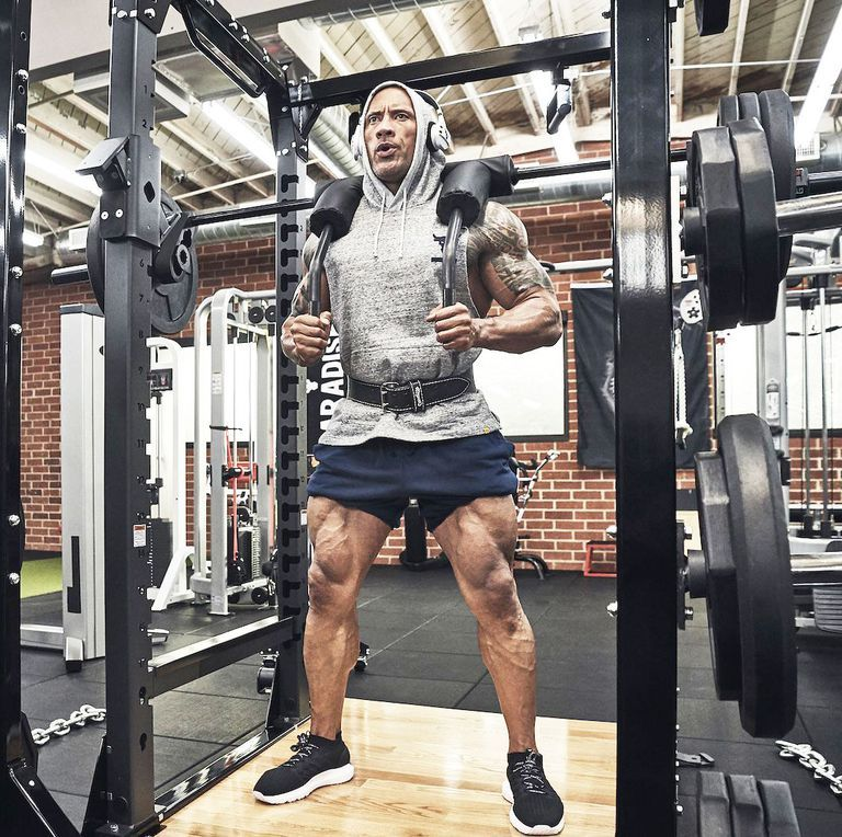 The Rock S Strength Coach Breaks Down His Explosive Leg Day Workout Leg Day Workouts The Rock Dwayne Johnson Dwayne Johnson Training