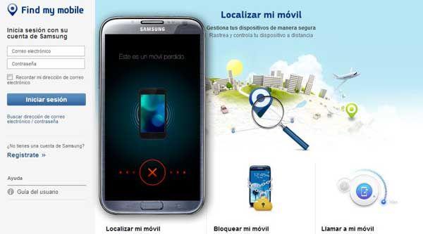 como localizar um celular roubado pelo gps samsung