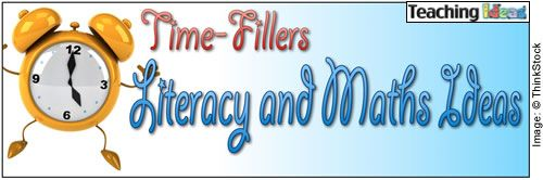 Great Literacy and Maths ideas!