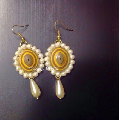 How To Make Beaded Double Colored Earrings