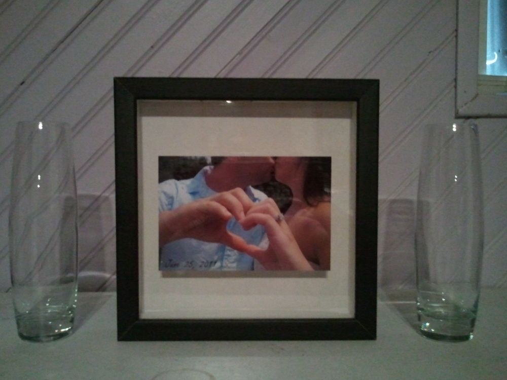 DIY Unity Sand Ceremony Frame. I would do this... But (tip taken ...